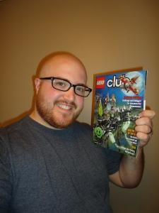 Lego Club Magazine - August Edition