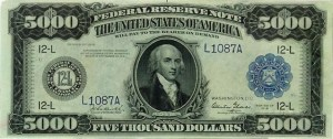 $5000 bill feat. James Madison. You could be earning these hand over fist.