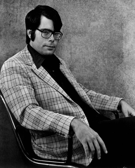 Stephen King in his finest duds.