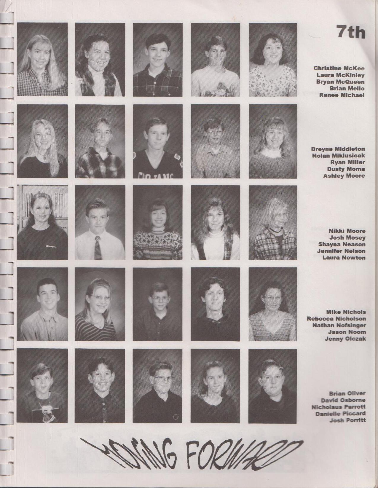Basement Editorial Middle School Yearbooks Josh Mosey Writer