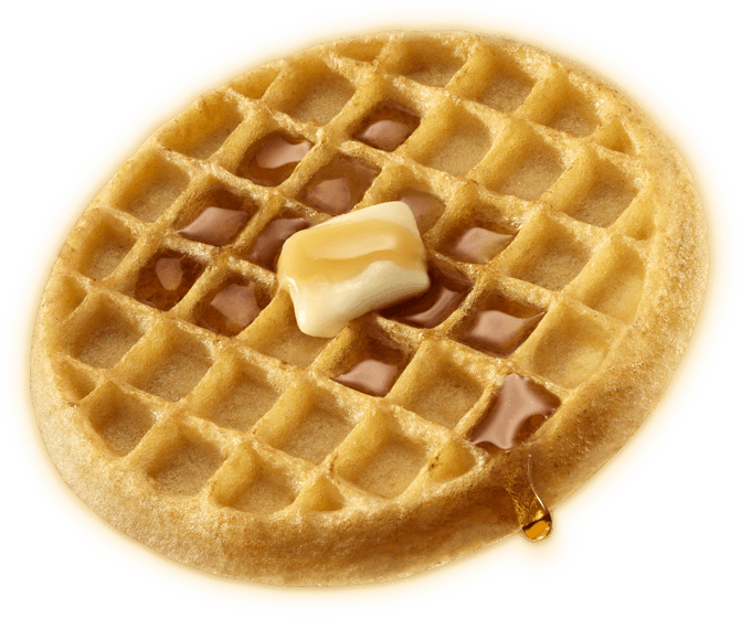 Post a Picture that Portrays Your Current Food Waffle-homestyle