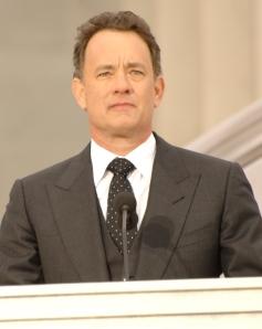 I would love to be my dorky self around Tom Hanks.