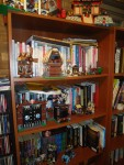 The Lego Realm has slowly been taking over the nearby bookshelves.