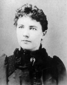 Laura Ingalls Wilder around 27 years old, with 30 some years to go before she gets published.