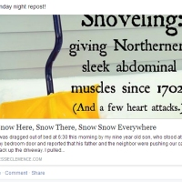 Introducing a New Word: Snoveling